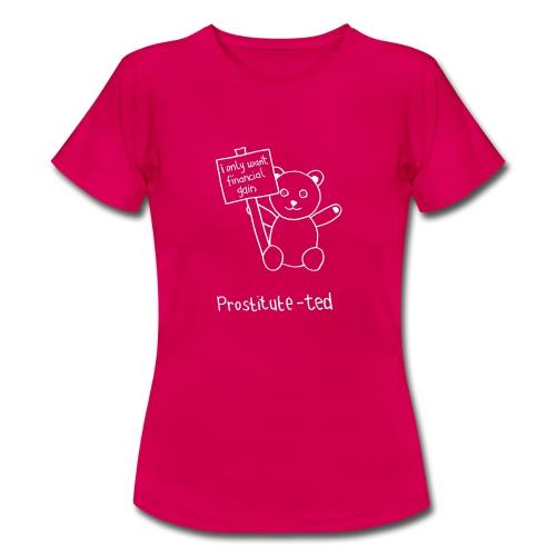 pro ted white gif - Women's T-Shirt