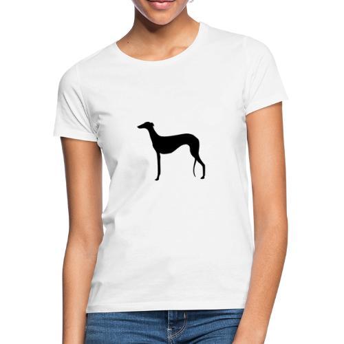 Galgo stehend - Frauen T-Shirt