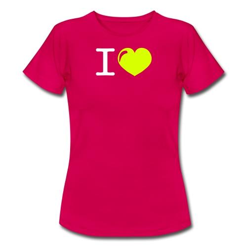 i love heart - Vrouwen T-shirt