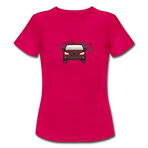 Red mountain Car - Women's T-Shirt