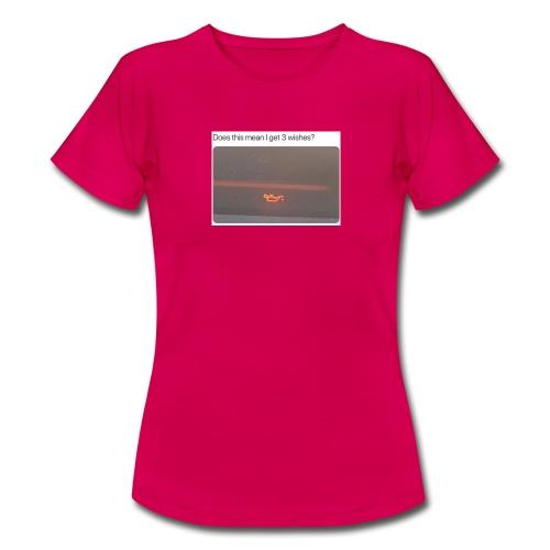 Genie In A Car - T-shirt dam