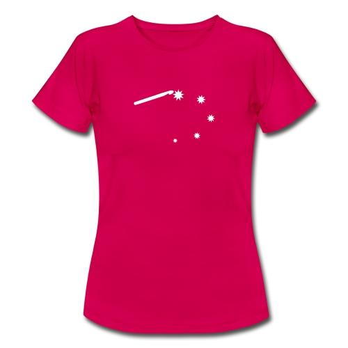 T-shirt voor haaksters, kies je eigen kleur - Vrouwen T-shirt