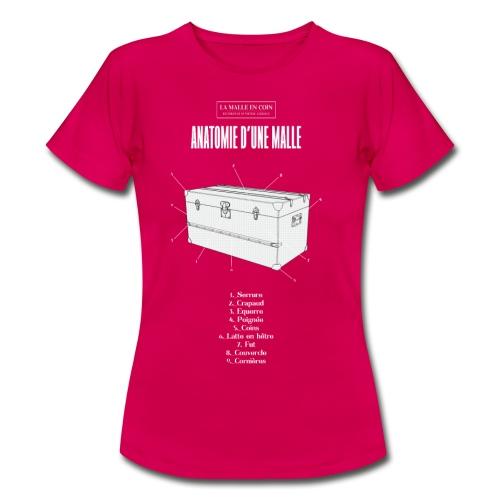 Tshirt La Malle en Coin ok - T-shirt Femme