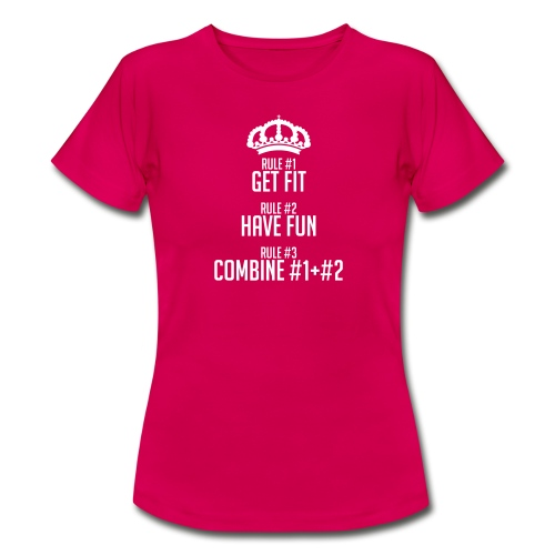 FITNESS RULES - Camiseta mujer