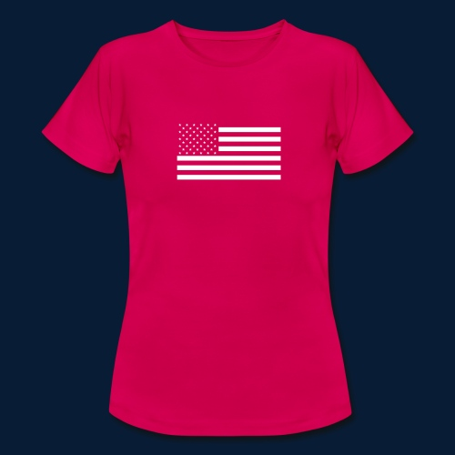 Stars and Stripes White - Frauen T-Shirt