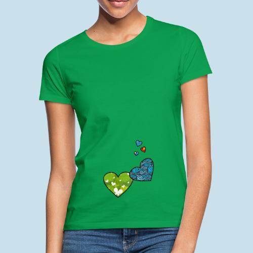 Herzchen - Frauen T-Shirt