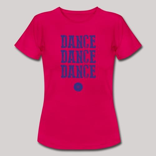 dancedancedance_blu - Maglietta da donna