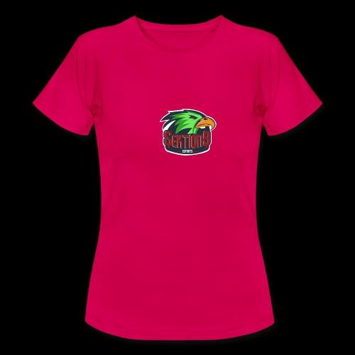 Sektion9 Logo Grün - Frauen T-Shirt