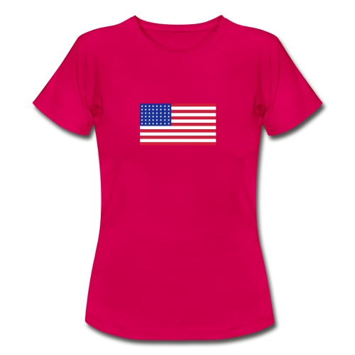 AVM 48 star flag in 3 color RGB VECTOR - Vrouwen T-shirt