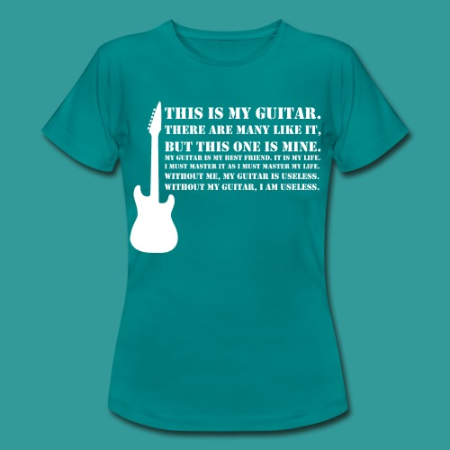This is My Guitar - Women's T-Shirt