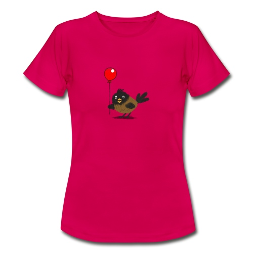 vogeltje met ballon - Vrouwen T-shirt