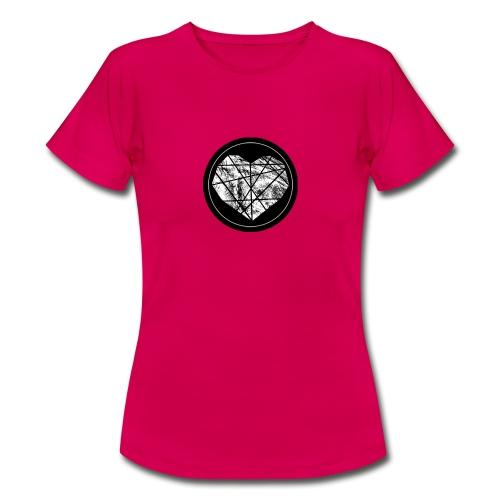 Logo Herzenszeit Neu - Frauen T-Shirt