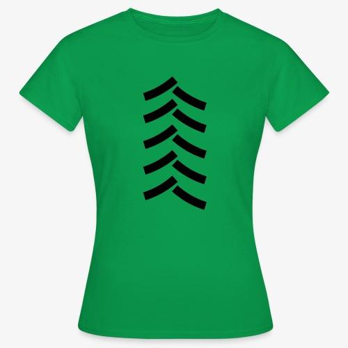 tractor spoor, bandenspoor - Vrouwen T-shirt
