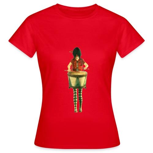 Fille Tambour - T-shirt Femme