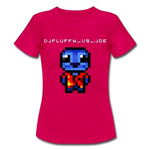 DJFLuFFy vs joe minecraft avatar - Vrouwen T-shirt