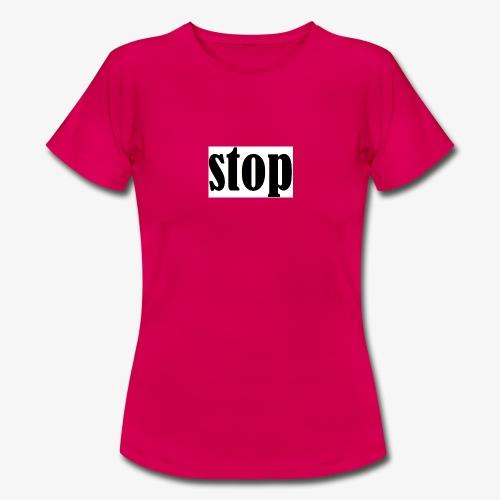 stop - Dame-T-shirt