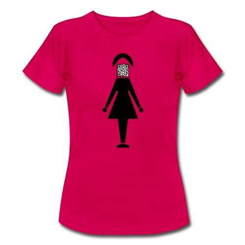 Barcode Woman - Frauen T-Shirt