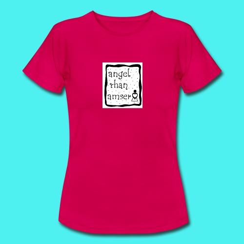 angel rhan amser jpg - Women's T-Shirt