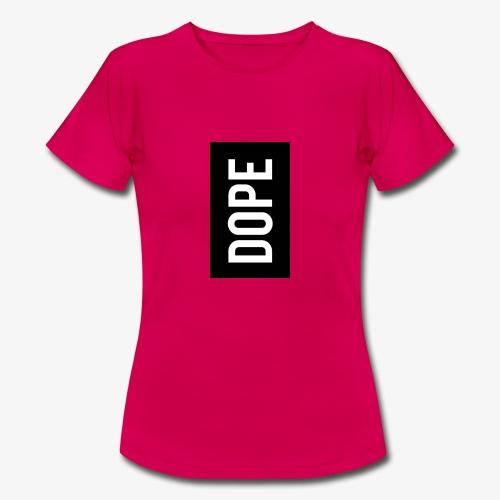 dope letter - Camiseta mujer