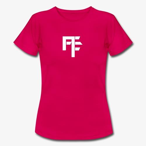 Petit Logo Teamfitfrance Blanc - T-shirt Femme