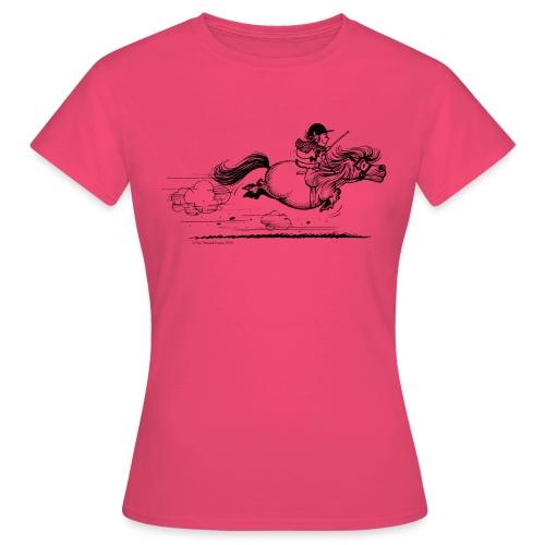 PonySprint Thelwell Cartoon - Women's T-Shirt