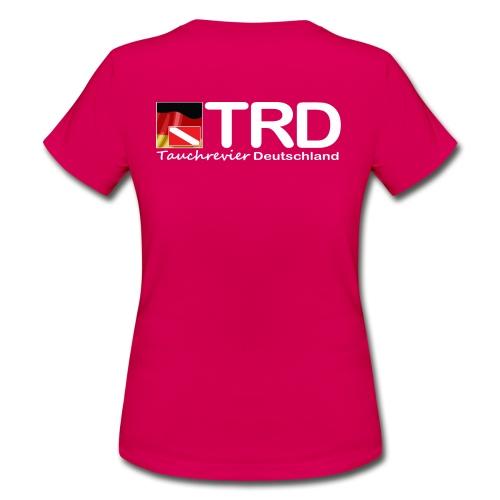 Tauchrevier Deutschland TRD newStyle - Frauen T-Shirt