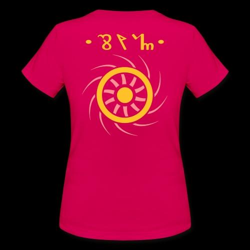 Theban Sun Symbol Back & Front - Maglietta da donna