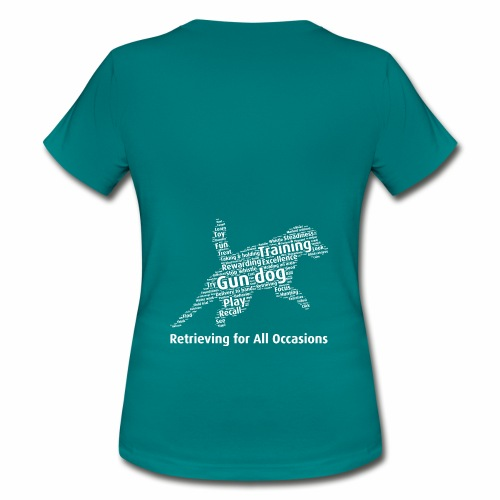 Retrieving for All Occasions wordcloud vitt - T-shirt dam