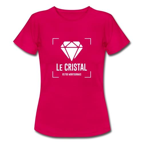 CRISTAL CLUB - T-shirt Femme