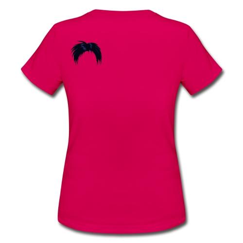 musta, hiukset - Naisten t-paita