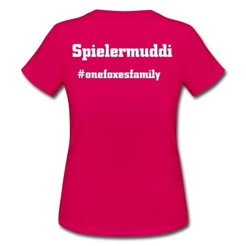 Spielermuddiweiß - Frauen T-Shirt