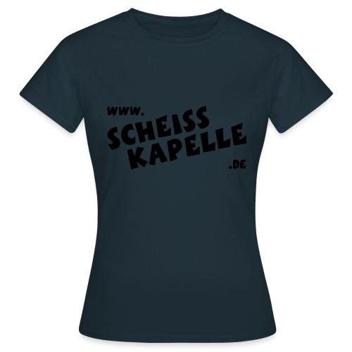 SCHEISSKAPELLE Logo - Frauen T-Shirt