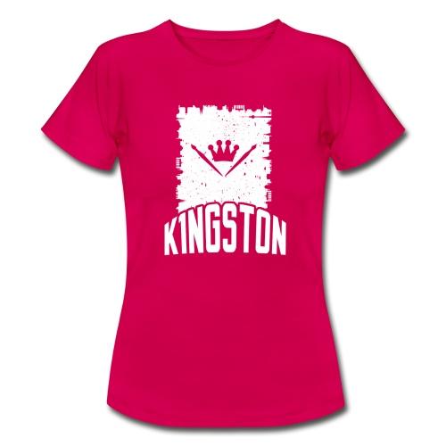 k1ngston_2015_blue - Frauen T-Shirt