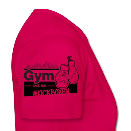 Gym in Druckfarbe schwarz - Frauen T-Shirt