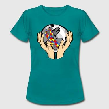 Autism Awareness World - Frauen T-Shirt