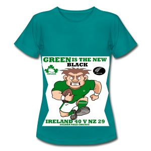 GREEN IS THE NEW BLACK !! - Women's T-Shirt