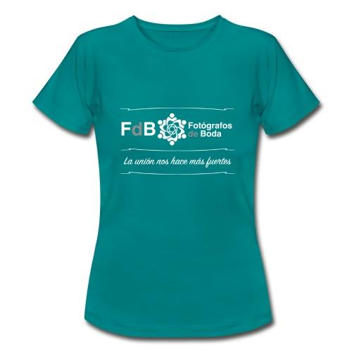 camiseta FdB B/N - Camiseta mujer