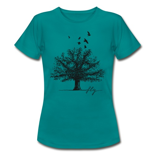 Tree Black - Vrouwen T-shirt