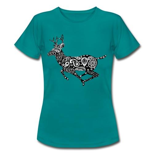 Hirschdesign - Frauen T-Shirt