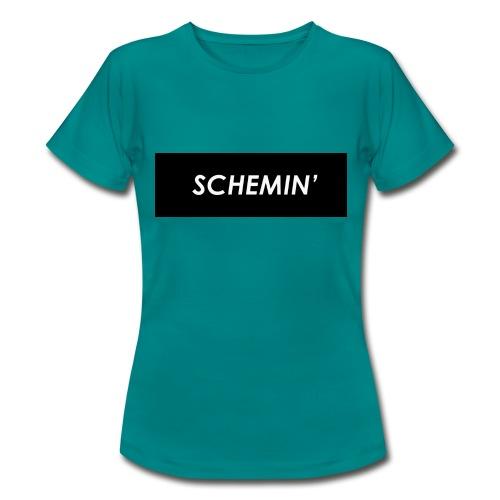 SCHEMIN' Black/White colour way - Women's T-Shirt