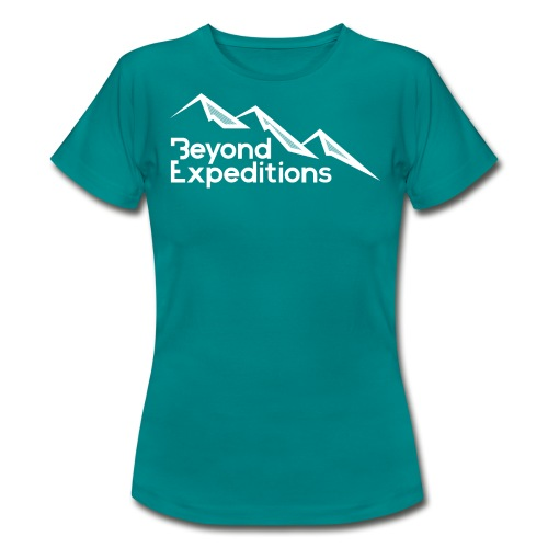 Beyond Expeditions White Logo - T-shirt Femme