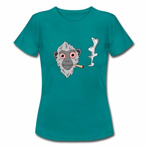 Smoking monkey - T-shirt Femme