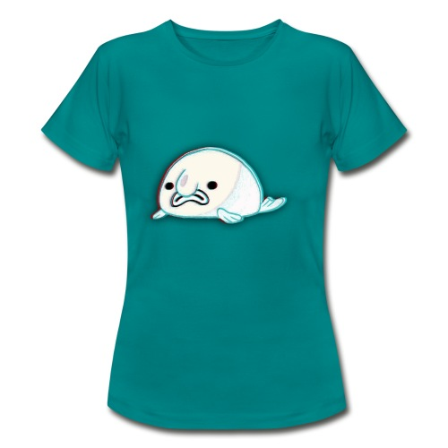 BabeFish logo - T-shirt dam