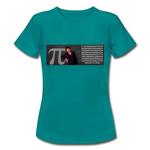 Pi-muggen. Glöm aldrig mer en decimal! - T-shirt dam