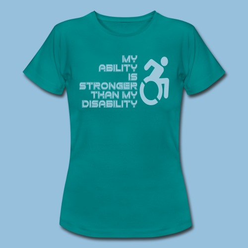 Ability1 - Vrouwen T-shirt