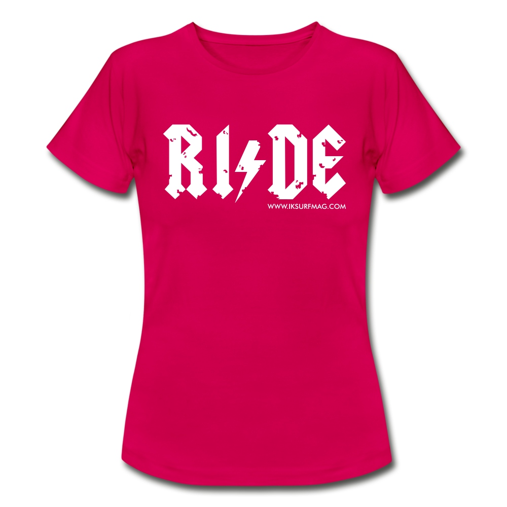 RIDE - Women's T-Shirt - ruby red