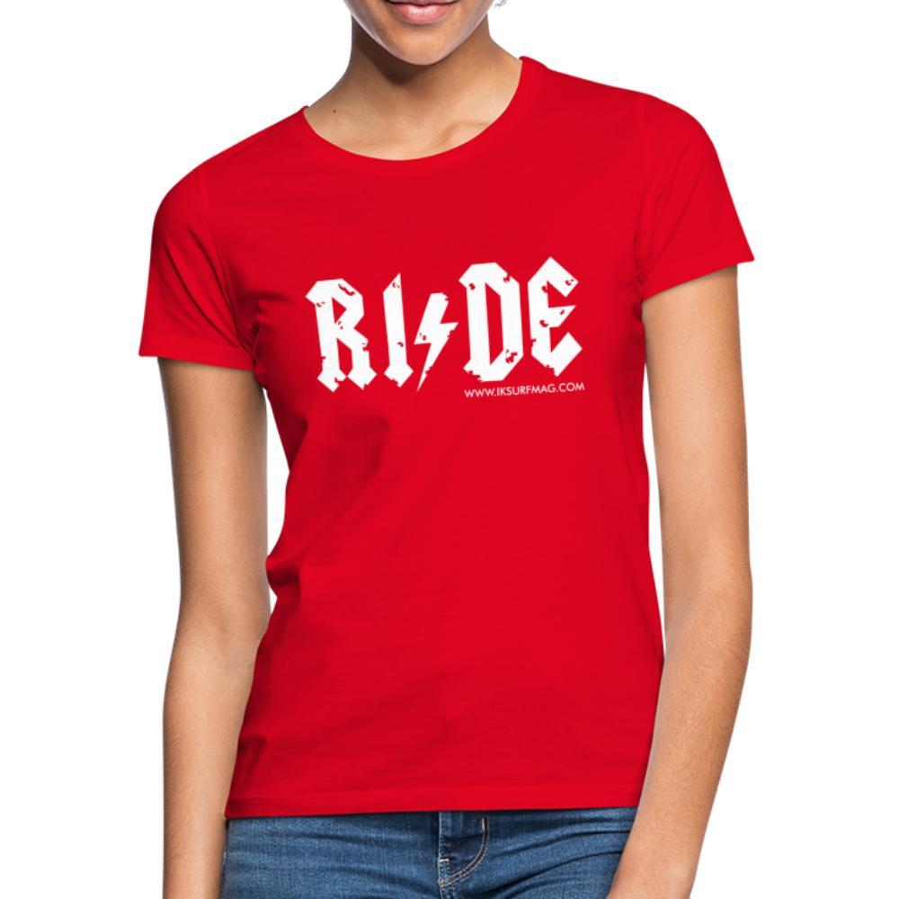 RIDE - Women's T-Shirt - red