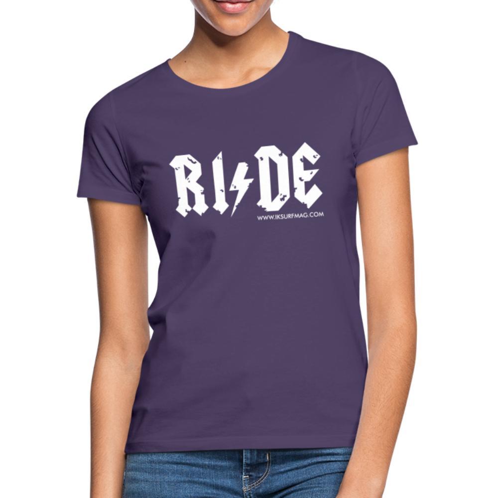 RIDE - Women's T-Shirt - dark purple