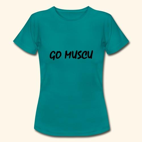 logo gomuscu - T-shirt Femme