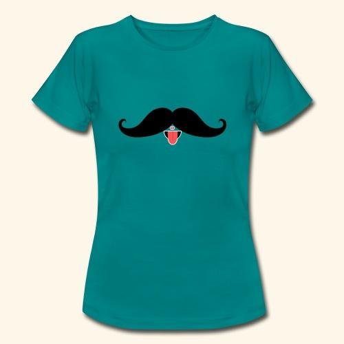 Fresh Moustache - Frauen T-Shirt